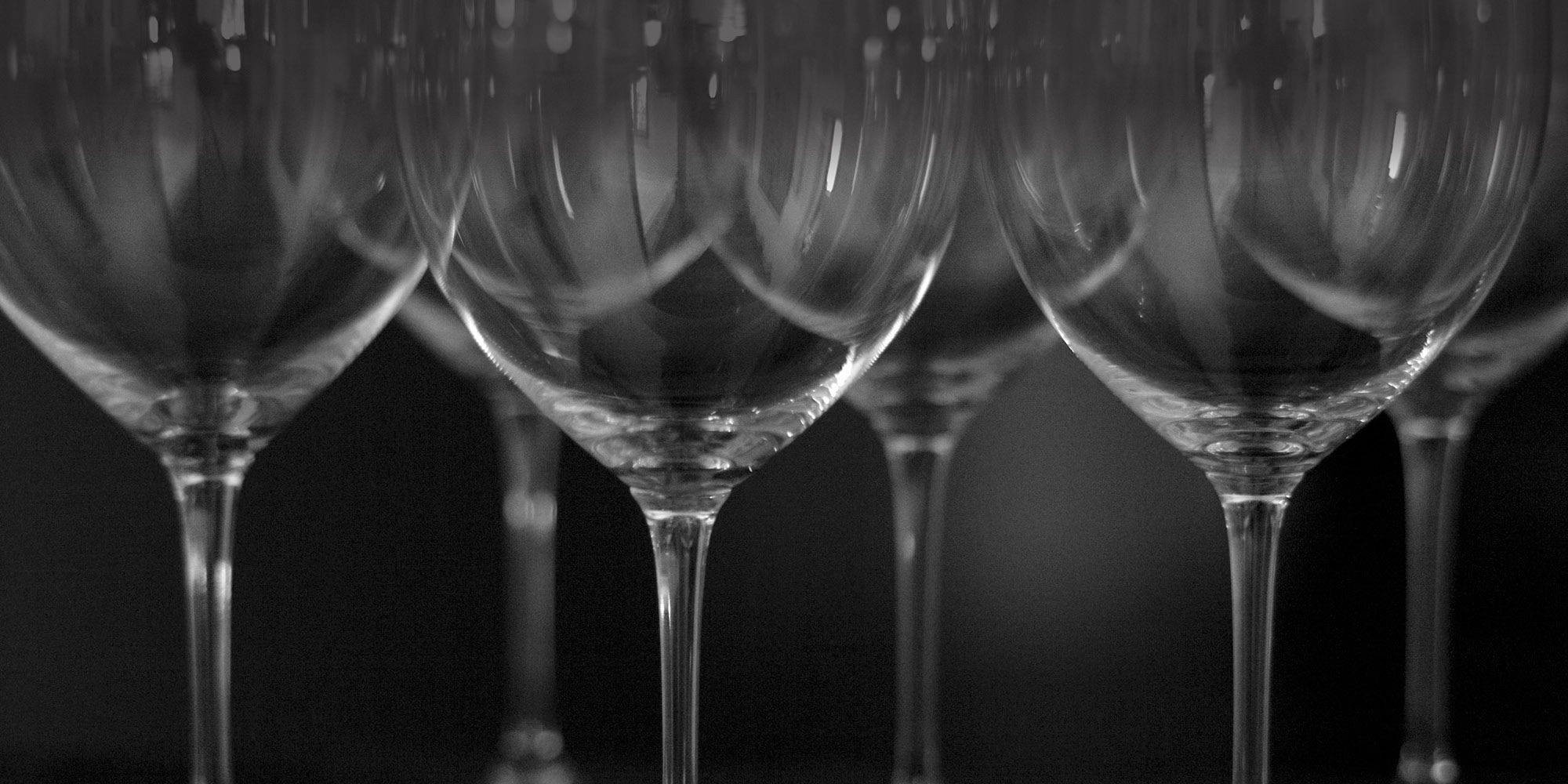 Monochrome Wines Paso Robles, CA wine glasses